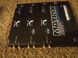 Audio control metrix for Sale in Perris, CA