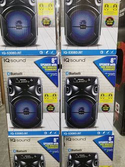 LOUD AND POWERFUL PERSONAL BLUETOOTH SPEAKERS. ASK ME FOR WHOLESALE PRICE for Sale in Huntington Park,  CA