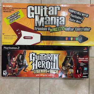 ps2 guitar hero guitars wireless for Sale in Hollywood, FL
