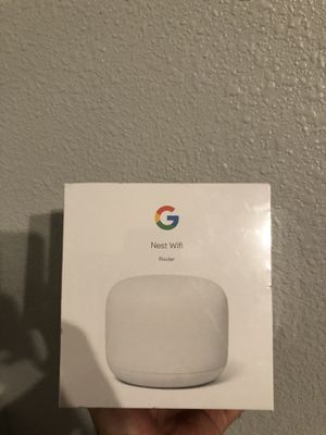 Google nest wifi router for Sale in Fresno, CA