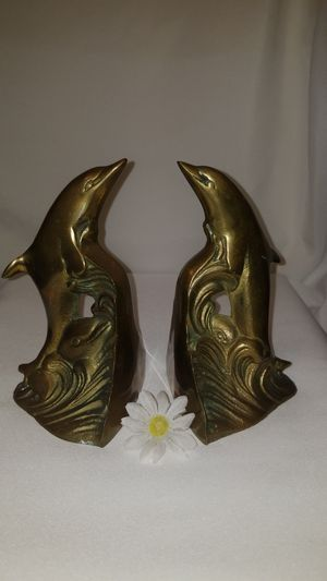 Vintage Brass Dolphin book holders for Sale in Mesa, AZ