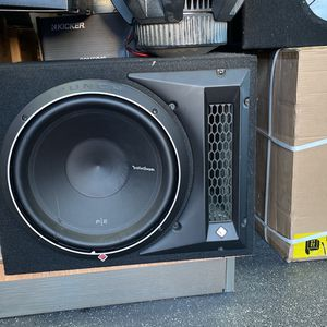 Rockford Fossgate subwoofer box for Sale in San Diego, CA