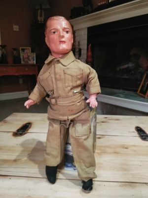 Antique wood doll for Sale in Seattle, WA