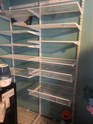 Closet organizer for Sale in Manassas, VA