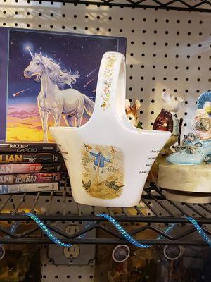 Peter Rabbit ceramic basket for Sale in Klamath Falls, OR