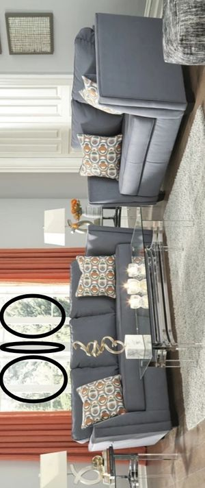 ON DISPLAY, New Brand and Best Offer FiloneSteel Living Room Set | 53401 includes Sofa & Loveseat # for Sale in Houston, TX