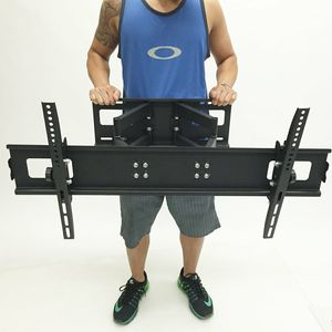 New in box Universal 40 to 85 inches swivel full motion tv television wall mount bracket 130 lbs capacity with hardwares and screws for Sale in Pico Rivera, CA
