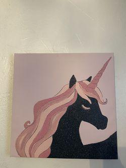 Glitter unicorn wall decor! for Sale in Arvada,  CO
