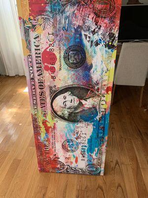 Pop Art Dollare Bill Cavans for Sale in Miami, FL