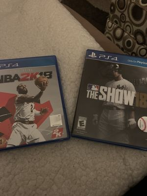 PS4 18 games for Sale in Lockport, IL