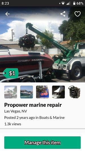 Pro power marine REPAIR for Sale in Las Vegas, NV