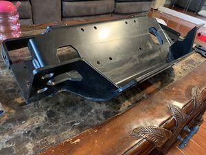 Warn winch plate for rubicon steel bumper for Sale in San Diego, CA