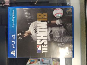 PS4 MLB 19 for Sale in Dallas, TX