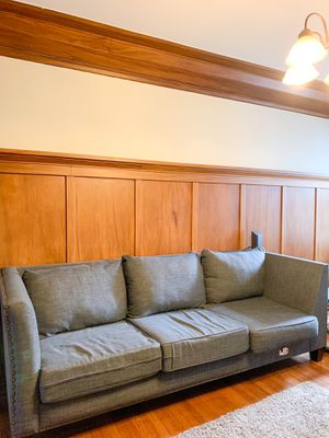 Dark Grey Sectional Couch for Sale in San Francisco, CA