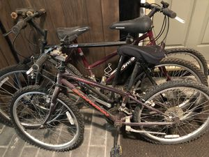 Bicycles!! Schwinn, Giant, Kids, Adult dusty but functional. for Sale in Moreland Hills, OH