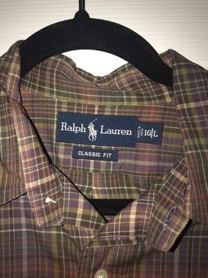 Ralph Lauren button down shirt for Sale in Alexandria, VA