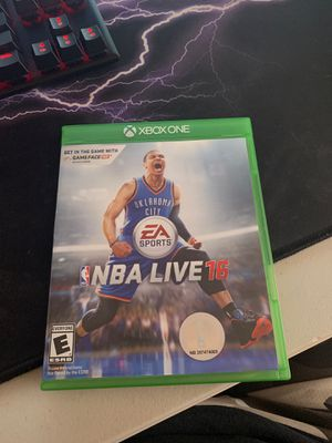 NBA Live 16 for Xbox one for Sale in Dublin, OH