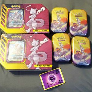 Sealed Mewtwo Gx And Power Kanto Tins for Sale in Crestview, FL