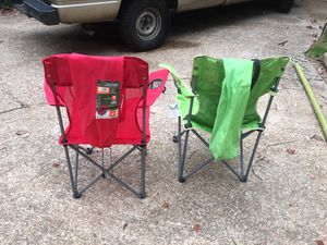 Two camping chairs for Sale in Tupelo, MS