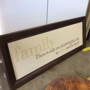 Family Frame for Sale in Chino, CA
