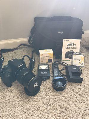 Canon rebel T5 camera for Sale in Minooka, IL