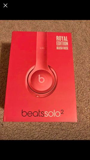 Beats Solo 2 Wired Headphones for Sale in American Fork, UT