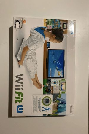 Nintendo Wii Fit U Balance Board+Game for Sale in Sunnyvale, CA