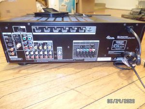 Onkyo Av Receiver HT-R393 With Bluetooth, Hdmi and Remote for Sale in Chicago, IL