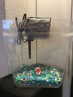 Fish Tank 5 Gallon for Sale in Temecula, CA