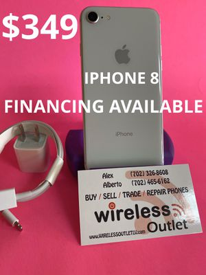 IPHONE 8 64GB T-MOBILE/METRO PCS!!! FINANCING AVAILABLE!!! for Sale in Las Vegas, NV