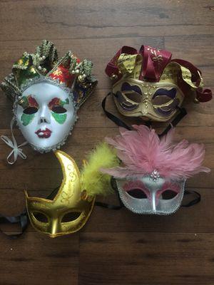 4 antifaces for Sale in Garden Grove, CA