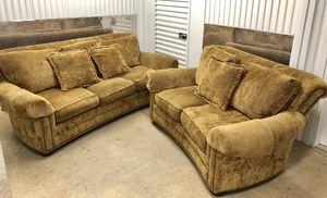 Massoud Corduroy Sofa & LoveSeat for Sale in Chamblee, GA