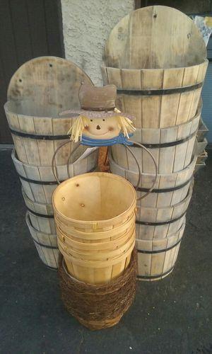 Wood half barrel for Sale in Los Angeles, CA