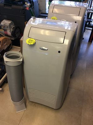 Whirlpool AC on wheels, 10,000 BTU, barely used, w/exhaust hose, window kit! for Sale in Greenacres, FL