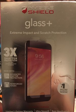 Invisible shield glass impact and scratch protector for Sale in Dallas, TX
