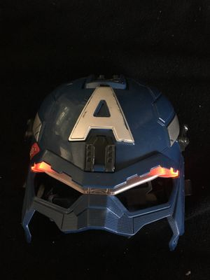 Captain America mask lights up for Sale in Montebello, CA