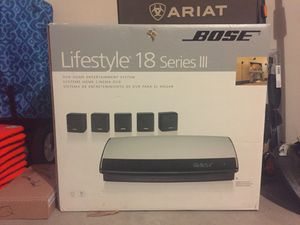Bose Lifestyle 18 Series III for Sale in Georgetown, TX