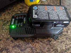 Ryobi 18 Volt Lithium Battery ➕ Charger for Sale in El Mirage, AZ