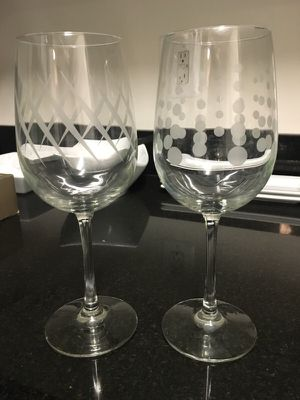 2 Wine Glass for Sale in Washington, DC