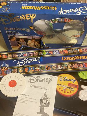 Vintage Disney guess works Electronics game all the pieces complete game for Sale in Millersville, MD