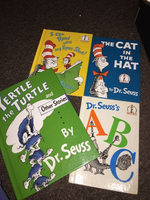 Cat in the hat kids books for Sale in Buffalo, NY