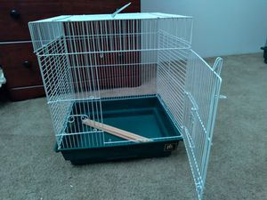 Small bird cage D×14 W×16 H×18 for Sale in Kent, WA