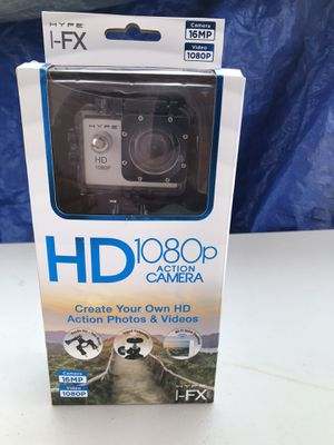 Hype I-FX HD 1080p Action Camera for Sale in Phoenix, AZ