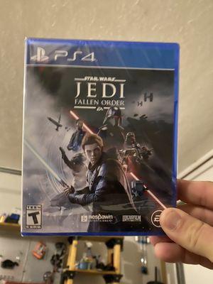 Star Wars Jedi fallen order PS4 for Sale in Lake Placid, FL