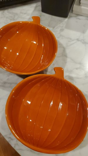 Decorative Pumkin Bowls for Sale in Newton, MA