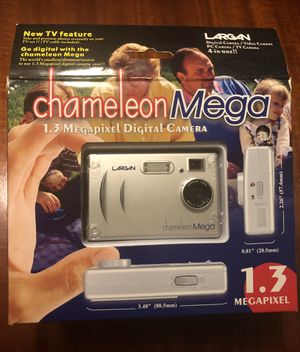 NIB LARGAN CHAMELEON MEGA 4-IN-1 DIGITAL CAMERA 1.3 MGPXL-NO START GUIDE OR SOFTWARE CD (GET ONLINE) for Sale in St. Louis, MO