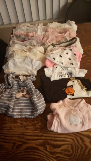 Baby girl cloths 0-3 for Sale in Santa Ana, CA