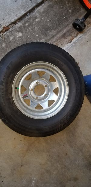 """(3)14"""" boat trailer wheels and tires for Sale in San Antonio, TX"""