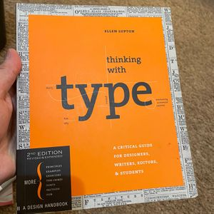 Thinking with type: A Critical Guide for Designers, Writers, Editors, & Students for Sale in San Francisco, CA