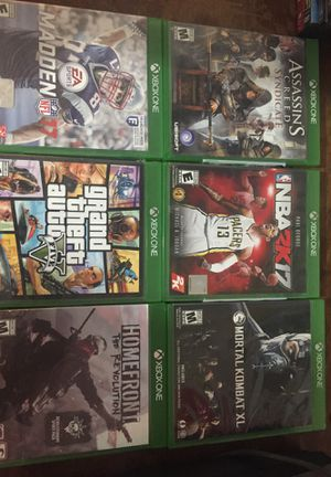 Xbox one games for Sale in Salt Lake City, UT